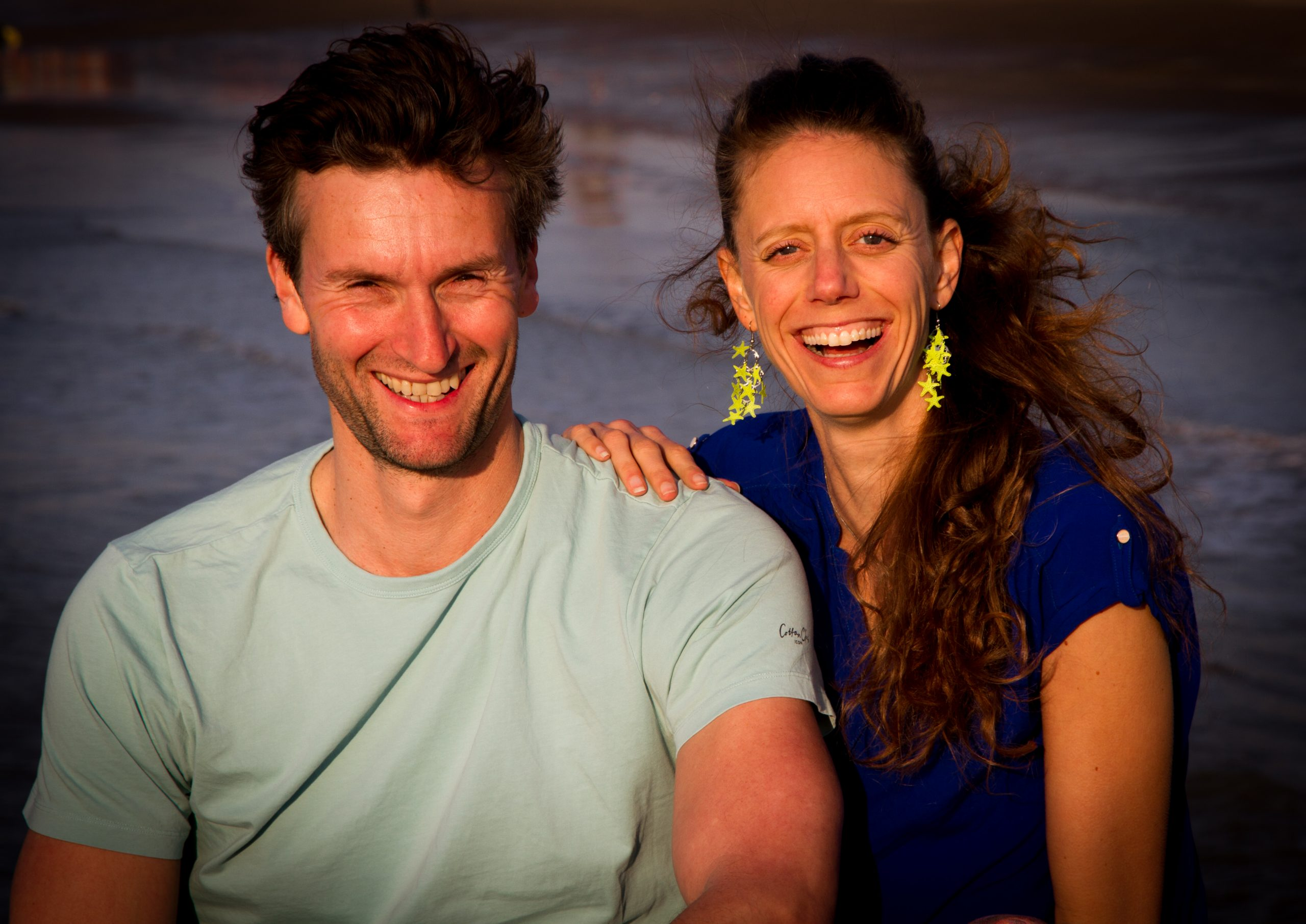 Surf Therapy Travel therapists Philippe & Sabine